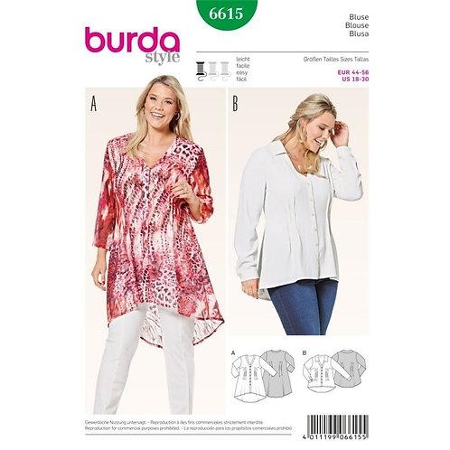 Burda 6615 leichte Bluse