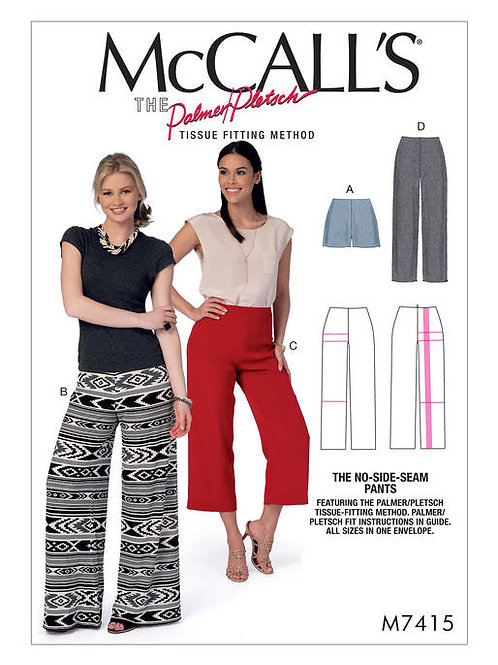 McCall's 7415 bequeme Hose