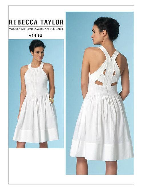 Vogue V1381 Trägerkleid by Rebecca Taylor