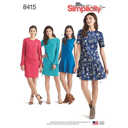 Simplicity 8415 Damenklied mit Variationen