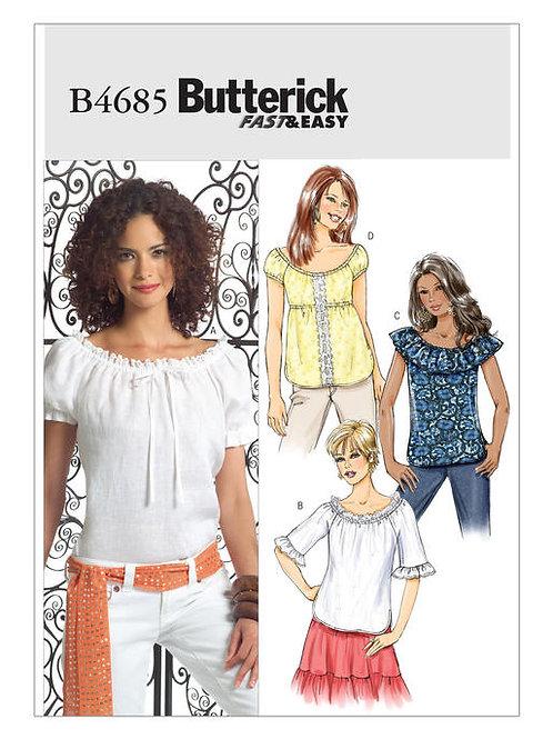 Butterick B4685 Bluse