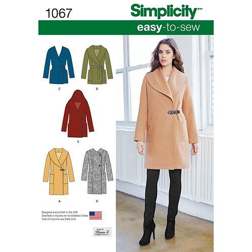 Simplicity 1067 Mantel
