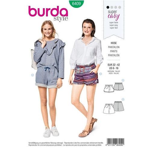 Burda 6409 Shorts
