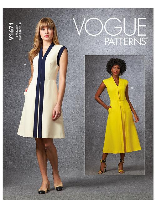 Vogue V1671 Kleid