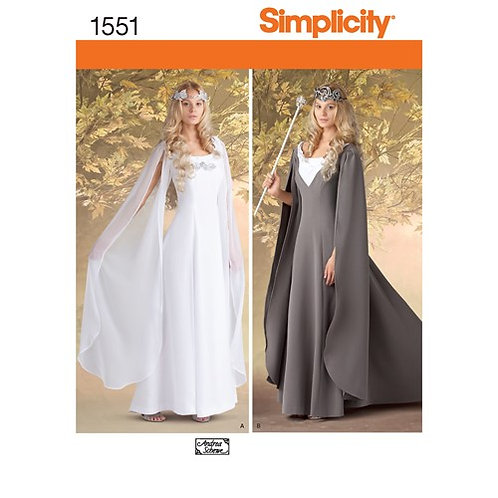 Simplicity 1551 Kostümkleid