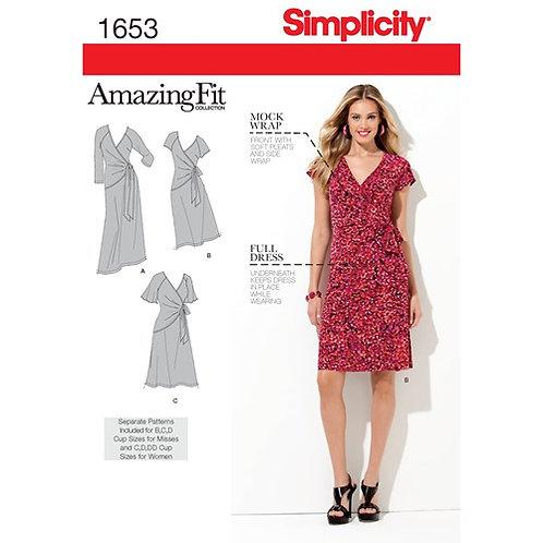 Simplicity 1653 Wickelkleid