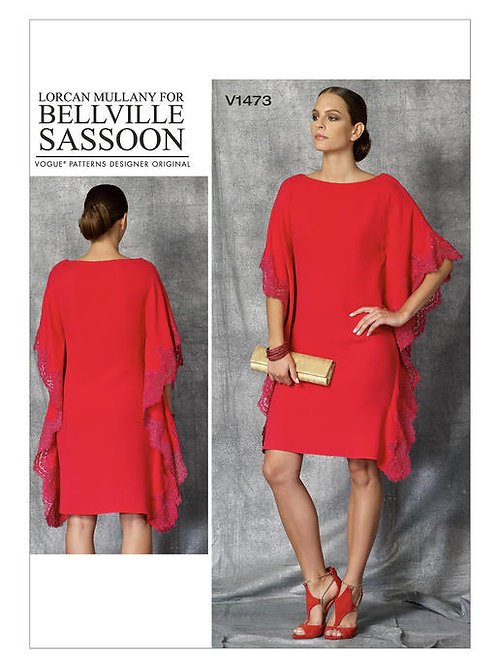 Vogue V1473 lockeres Kleid by Bellville Sassoon