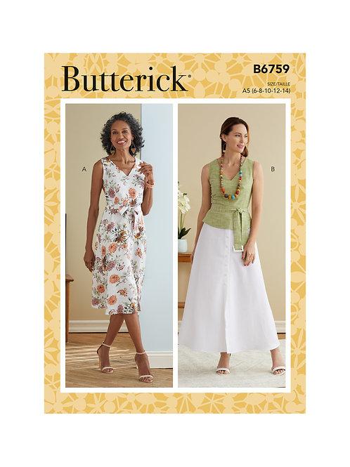 Butterick B6759 Kleid