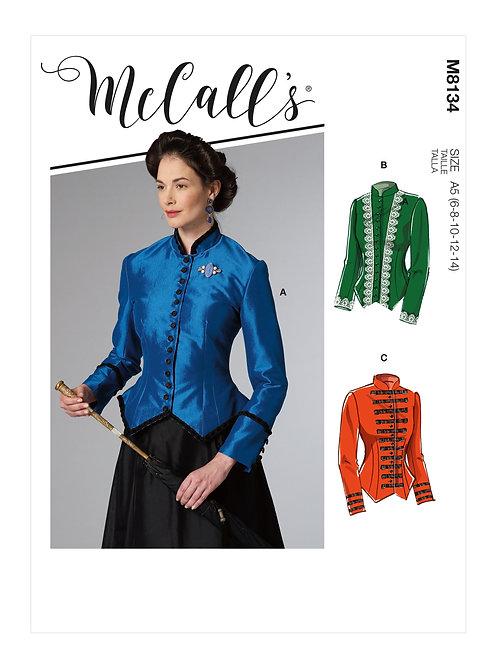 McCall's8134 Historische Bluse