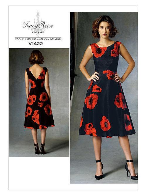 Vogue V1422 Trägerkleid by Tracy Reese
