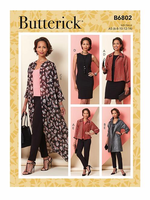 Butterick B6802 Kombination