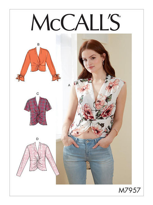 McCall's 7957 modische Bluse