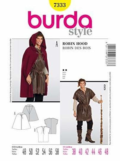 Burda 7333 Robin Hood