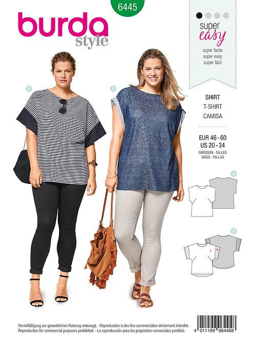 Burda 6445 T - Shirt