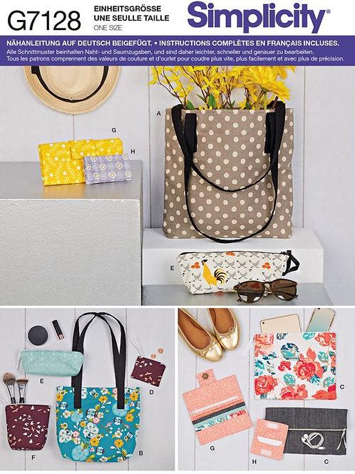 Simplicity 7128 Taschen-Set