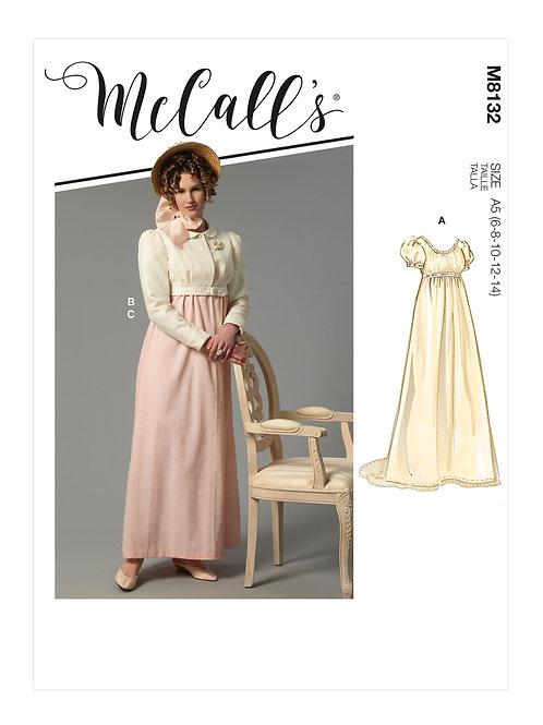 McCall's8132 Historisches Kleid