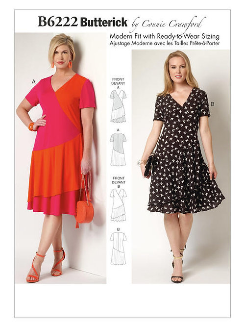 Butterick B6222 Abendkleid by Connie Crawford