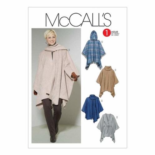 McCall`s M6209 Poncho