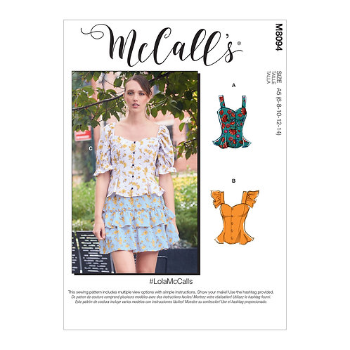 McCall's 8094 Bluse