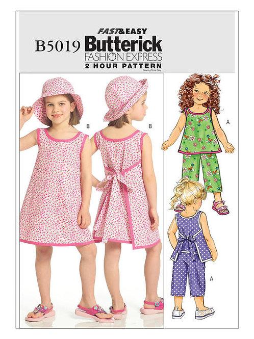 Butterick B5019 Strandkombination