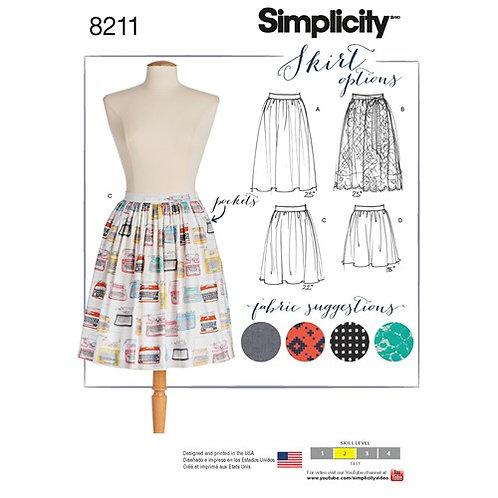 Simplicity 8211 Dirndlrock