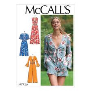 McCall`s M7756 Overall