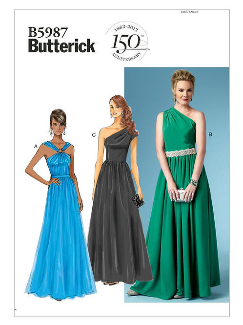 Butterick B5987 Abendrobe