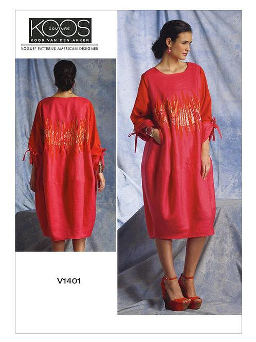 Vogue V1401 Designerkleid by Koos van den Akker