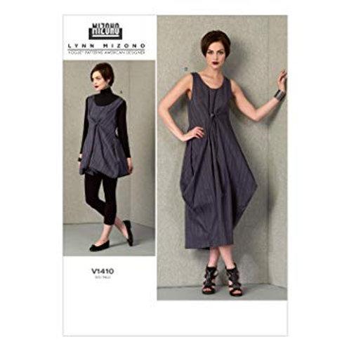 Vogue V1410 Designerkleid by Lynn Mizono
