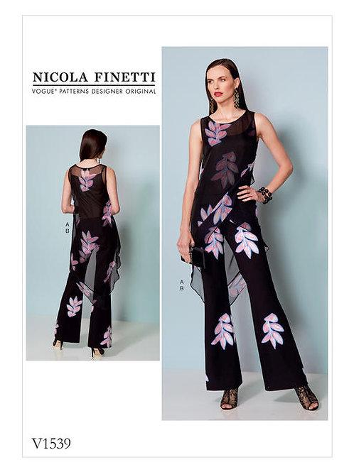 Vogue V1539 Overall & Tunika by Nicola Finetti