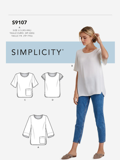 Simplicity 9107 Shirt