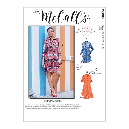 McCall's 8086 Kleid