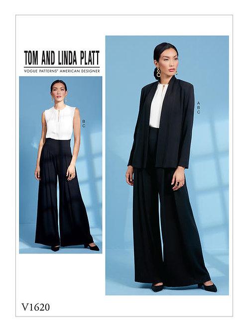 Vogue V1620 Jacke, Bluse & Hose by Tom and Linda Platt