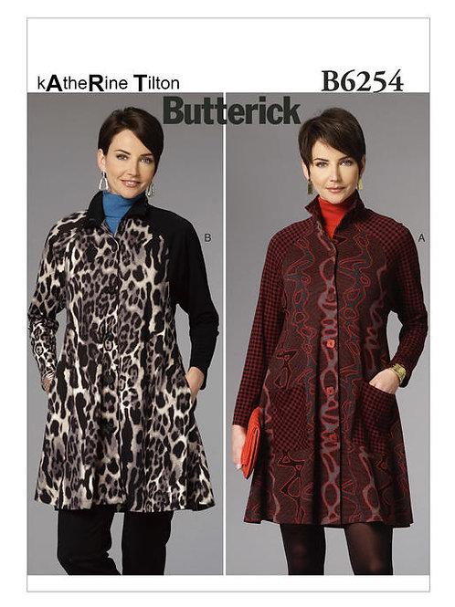 Butterick B6254 Mantelkleid by Katherine Tilton