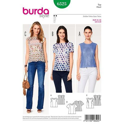 Burda 6525 Top & Bluse