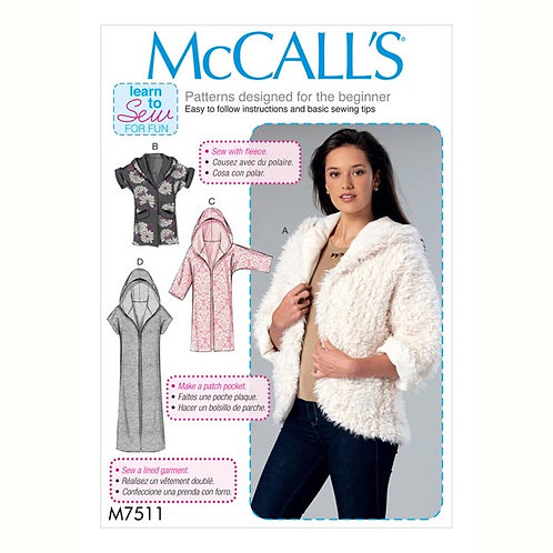 McCall`s M7511 Jacke / Weste