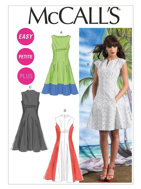 McCall's 6741 ärmelloses Kleid