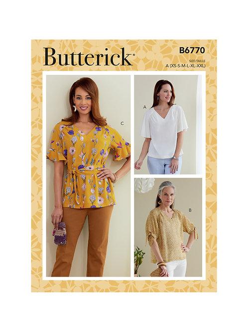 Butterick B6770 Bluse