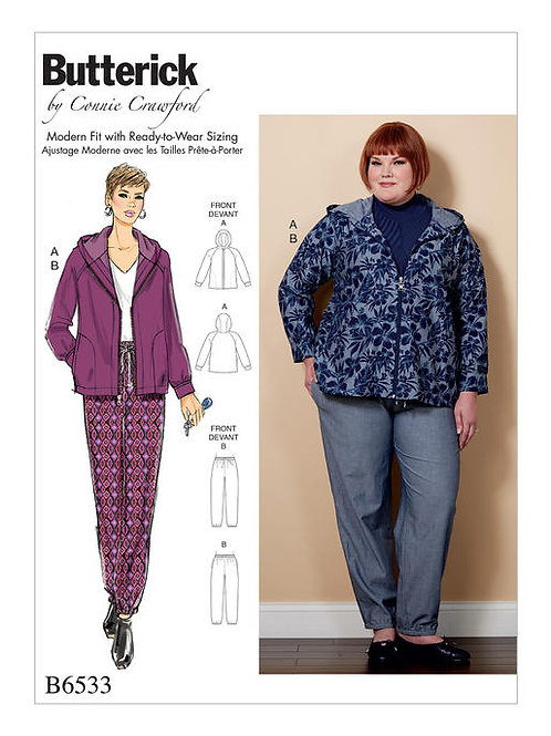Butterick B6533 Jacke & Hose by Connie Crawford