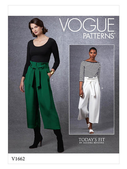 Vogue V1662 lockere Hose by Sandra Betzina