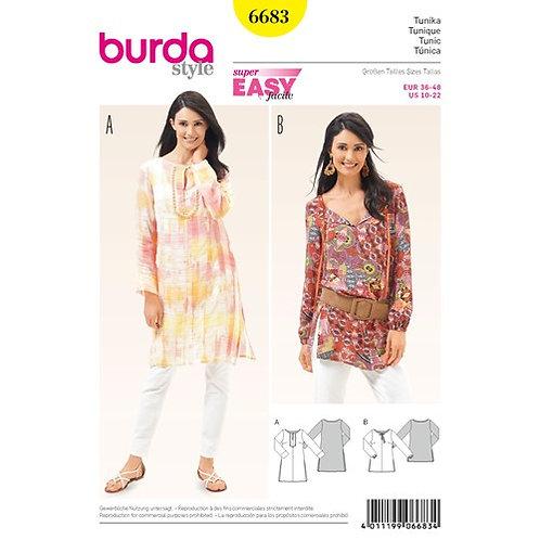 Burda 6683 Tunika & Bluse