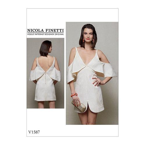 Vogue V1587 Designerkleid by Nicola Finetti