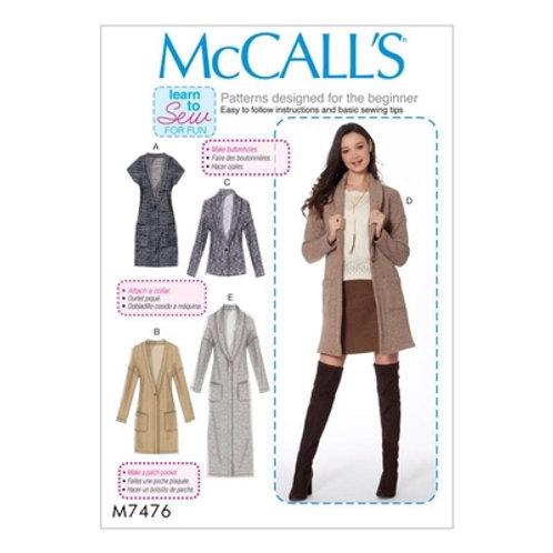 McCall`s M7476 Jacke
