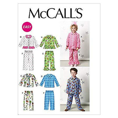 McCall`s M6458 Kinder-Schlafanzug