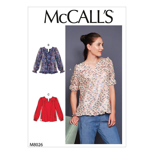McCall`s M8026 Bluse