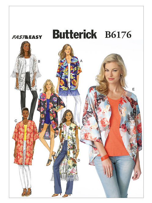 Butterick B6176 Kimonojacke