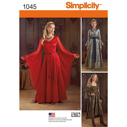 Simplicity 1045 Damen Fantasy - Kostüm