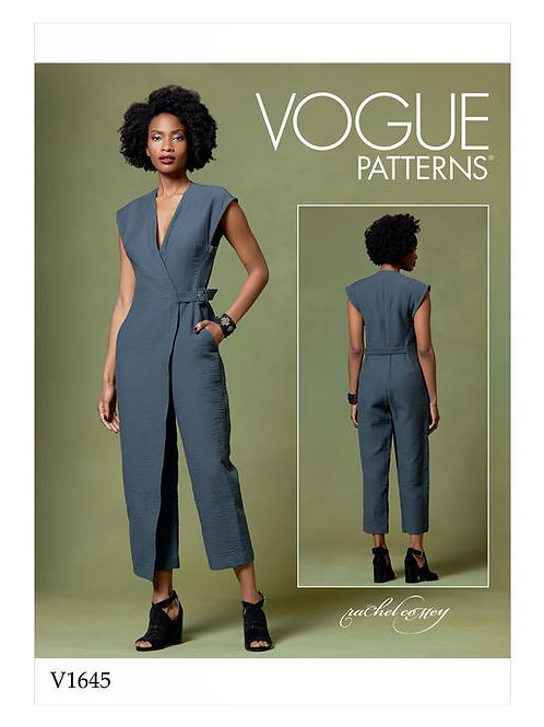 Vogue V1645 Overall mit Wickeleffekt