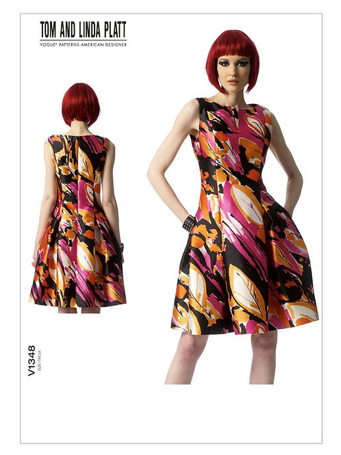 Vogue V1381 tailliertes Kleid by Tom and Linda Platt