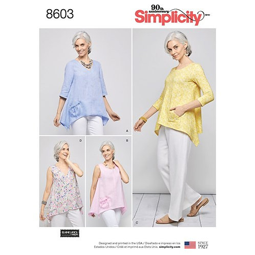 Simplicity 8603 Zipfelshirt